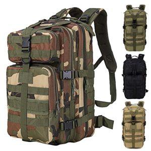 01267807ed 35L de gran capacidad al aire libre expansible mochila táctica militar  impermeable viaje senderismo trekking escalada caza bolsa para portátil