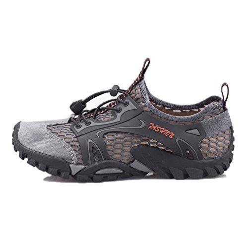 Senderismo Asfalto Zapatilla Sandalias De Montaña Playa Deportivas Trekking Deportes Flarut Casuales Transpirable Zapatos Y Verano Pescador Hombres EIW9YH2D