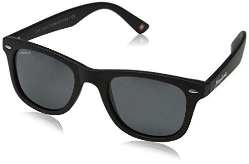 9dfa6fcf9a5c9 Montana MP41 - Gafas de sol unisex - Multicolor adulto (negro lentes ...