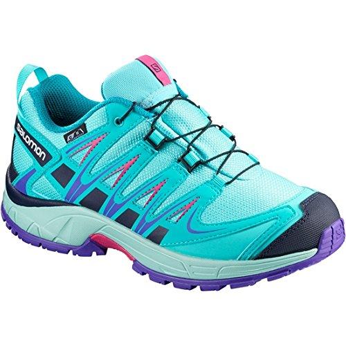 Contribuyente enchufe innovación  Salomon XA Pro 3D CSWP J, Zapatillas de Trail Running Unisex Niños - Ropa  de Montaña y Senderismo