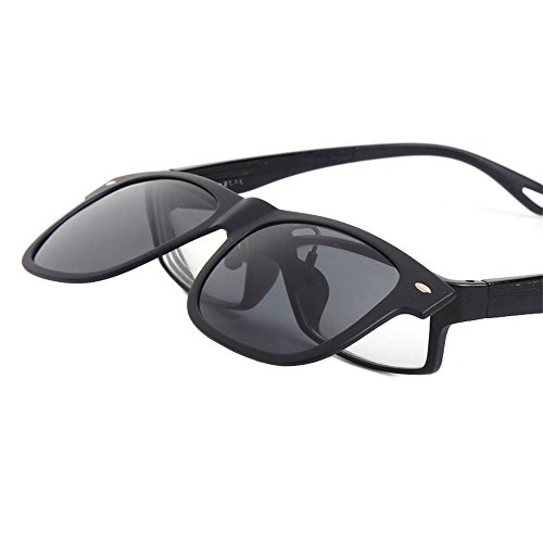 TERAISE Polarized Clip-On Driving Sunglasses with Flip Up Function-Suitable for Driving Fishing Outdoor Sport Motorbikes, Accessories & Parts
