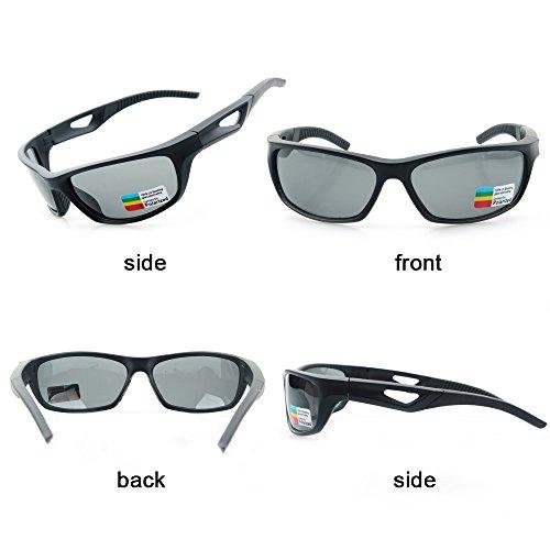 golf accesorios con estuche r/ígido ZILLERATE Gafas de sol deportivas polarizadas TR90 para hombres y mujeres ciclismo protecci/ón UV400 navegaci/ón esqu/í pesca marco ligero y duradero